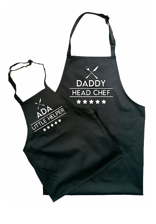 Daddy & Mini Apron Set