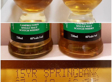 My Springbank 15 Tastes Different Than My Old Springbank 15?