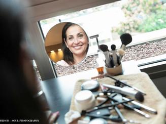 The makeup corner