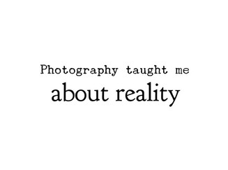 Unleach your perception and change your life! Photography is a perfect tool to explore self-perception.
