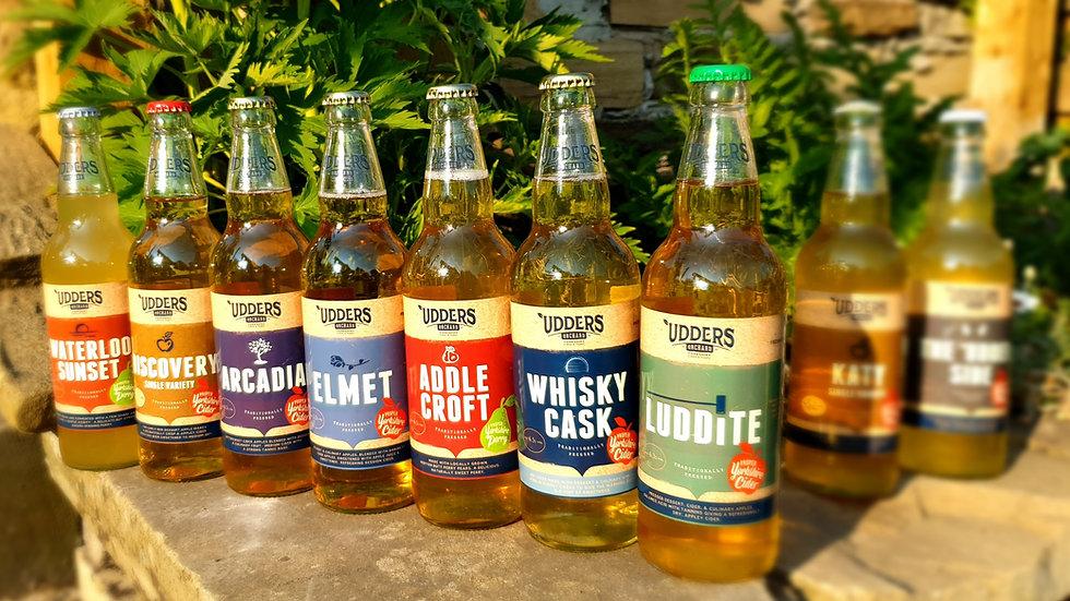 12 Assorted 500ml Bottles