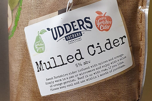 Mulled Cider 6% abv