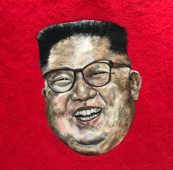 Kim Jong-un (part of Pest installation)