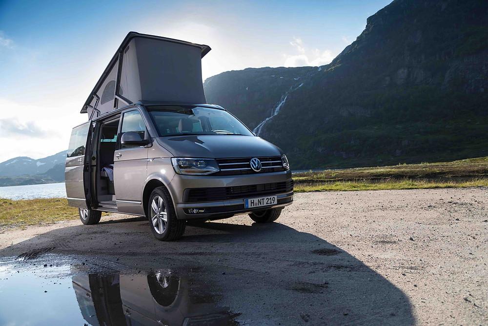 Camper VW California 4x4 ideal para visitar Islandia durante el invierno