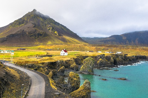 Vista panorámica de Arnarstapi - Lo mejor de la Península de Snaefellsnes en Islandia