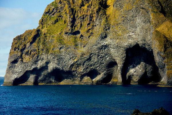 Vista panorámica de Roca Elefante  - La maravilla volcánica de Islandia