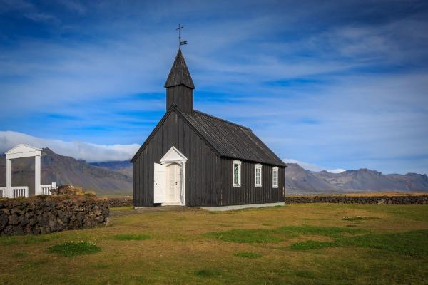 Iglesia negra de Budir - Lo mejor de la península de Snaefellsnes en Islandia