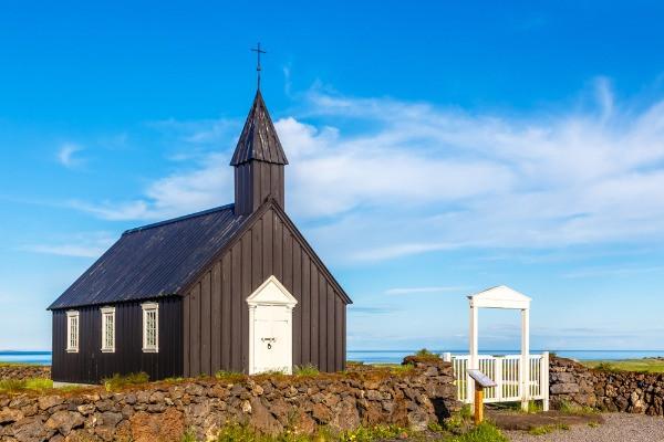 Budakirkja - Joyas de la arquitectura de Islandia