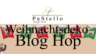 #P a S t e l l o BLOG HOP / Weihnachtsdeko
