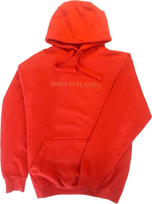 Born in Flames Hoodie (Red)