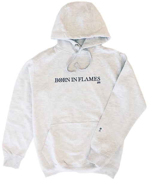 Born in Flames Hoodie (Grey)
