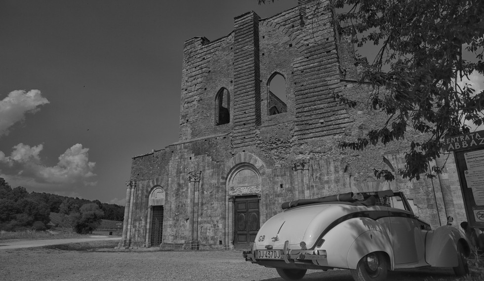 San Galgano, Siena, 2017