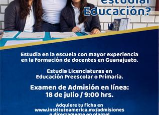 Examen de Admisión Licenciaturas