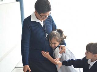 Entrega de despensas Preescolar