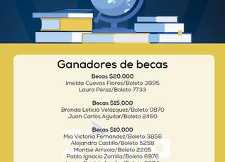 """Lista de ganadores de la 3er Rifa """"Apoya y gana""""..."""