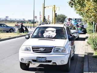 Desfile de carros alegóricos/Convivencia Secundaria-Preparatoria