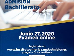 Nuevo examen de admisión Bachillerato
