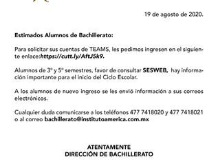 Cuentas Microsoft Office Bachillerato