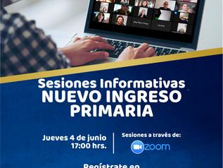 Sesiones Informativas Primaria