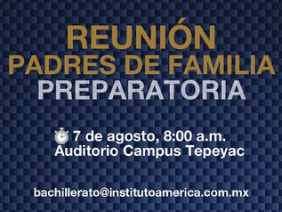 Reunión Padres de Familia (Preparatoria)