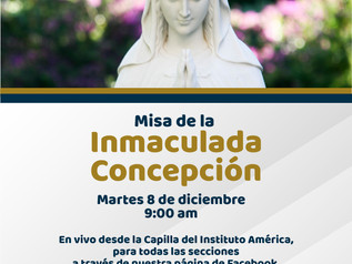 Misa Inmaculada Concepción