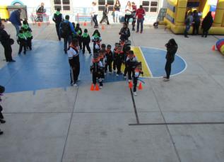 El Preescolar  se hizo presente en los Juegos Intermínimos en el Instituto Lasalle de Guanajuato.
