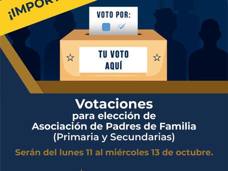 Votación Asociación de Padres de Familia