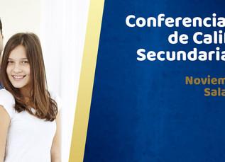 Conferencia y Entrega de Calificaciones Secundaria Matutina