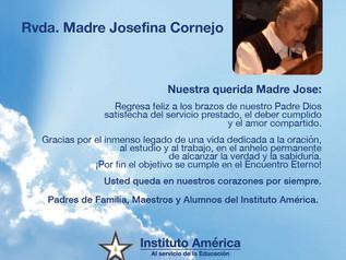 A Nuestra querida Madre Jose...