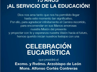 Celebración Eucarística 75 aniversario