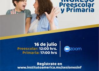 Sesiones Informativas Preescolar y Primaria