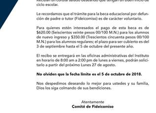 Circular Fideicomiso 2018-2019