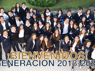 ¡Bienvenidos sean, alumnos de Preparatoria!