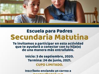 Escuela para Padres Secundaria Matutina