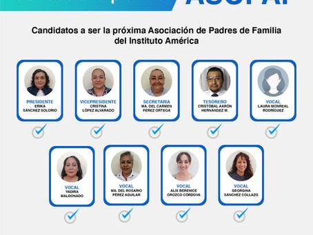 ¡Conoce a los candidatos a dirigir la Asociación de Padres de Familia!