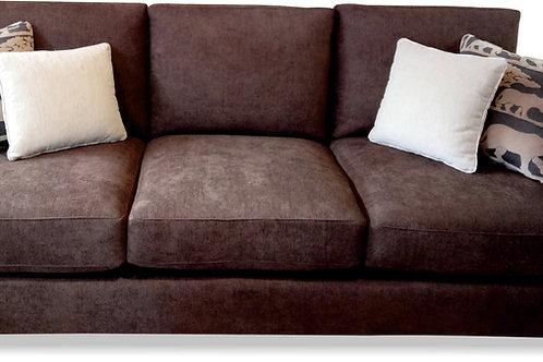 Sofa cubo de 3 cuerpos con brazo recto
