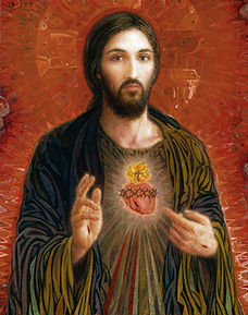 Sacred Heart, Red Background 3.jpeg