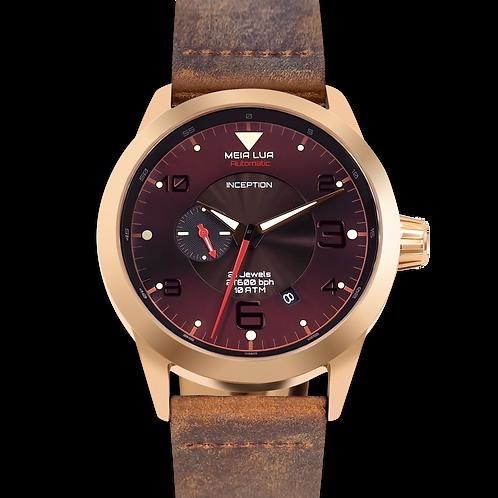 MOONMETAL MARS | Bronze Gold / Distressed Leather