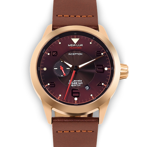 MOONLIGHT MARS | Bronze Gold Case / Cocoa Leather