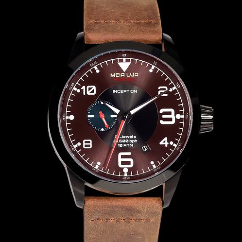 MOONMETAL DUST - DARK SIDE | Distressed Brown Leather