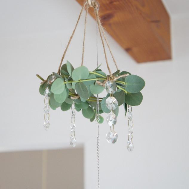 handmade*サンキャッチャー・リース