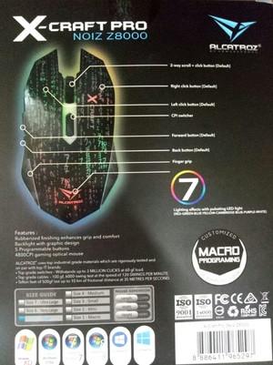 Alcatroz Xcraft Pro Noiz Z8000-Macro Ready