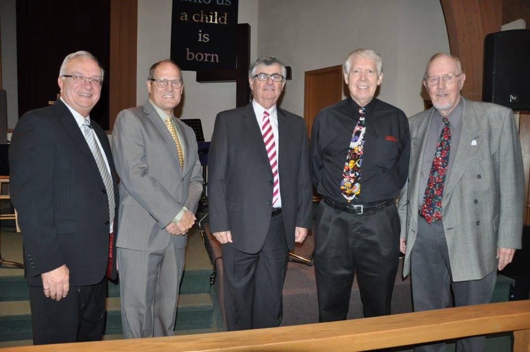 Gary, Phil, Bill, Ken & John