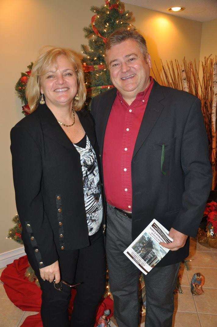 Councillor Bob Kwapis & wife Barbara