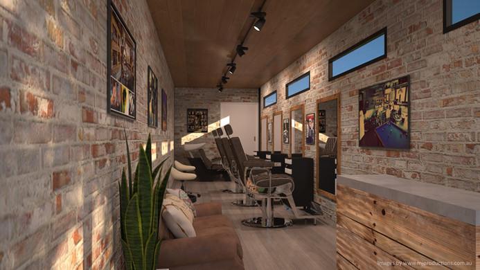 Pop-Up Barber Shop Internal 2