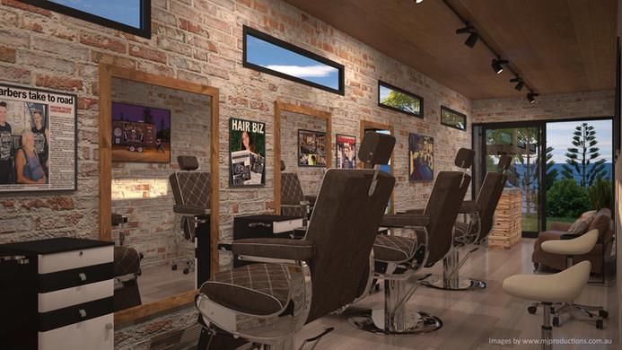 Pop-Up Barber Shop Internal 1