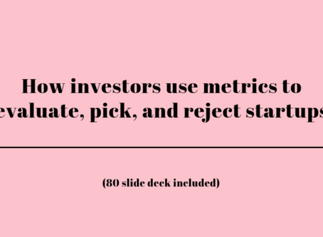 The red flags and magic numbers that investors look for in your startup's metrics - Andrew Chen