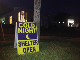 Cold Night, Shelter Open...