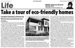 Eco-friendly values.