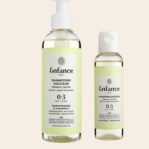 Shampoing Enfance 200ML 0-3 ans Enfance